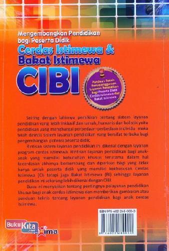 Cover Belakang Buku Mengembangkan Pendidikan bagi Peserta Didik CIBI