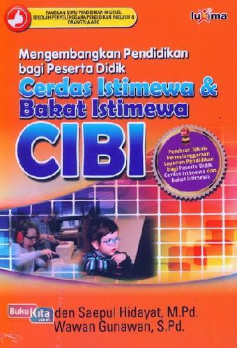 Cover Buku Mengembangkan Pendidikan bagi Peserta Didik CIBI