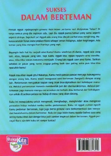 Cover Belakang Buku Sukses Dalam Berteman