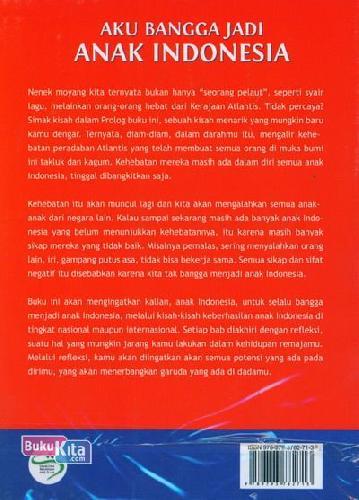 Cover Belakang Buku Aku Bangga Jadi Anak Indonesia