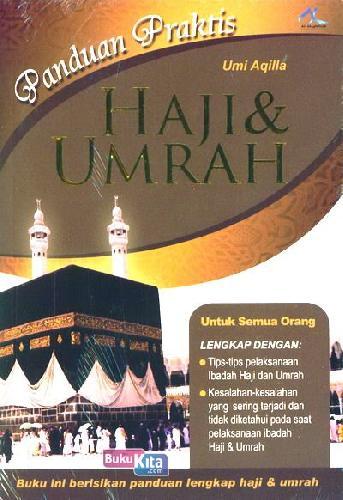 Cover Buku Panduan Praktis Haji dan Umrah