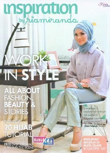 Cover Buku Work In Style - Inspiration by Ria Miranda