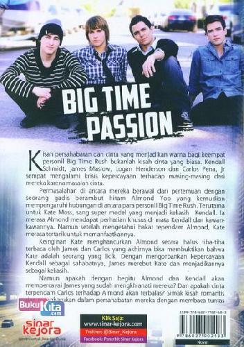 Cover Belakang Buku Big Time Passion