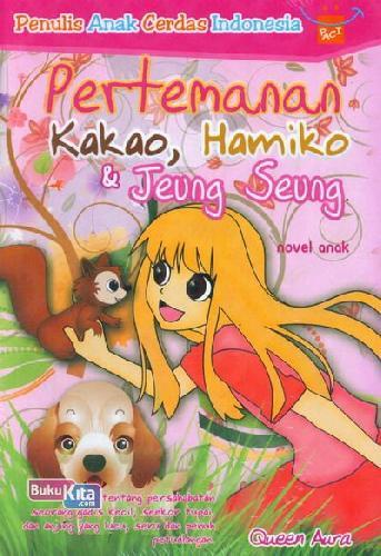 Cover Buku Pertemanan Kakao, Hamiko & Jeung Seung