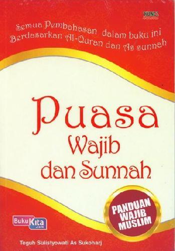 Cover Buku Puasa Wajib dan Sunnah