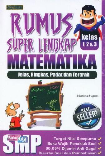 Cover Buku Rumus Super Lengkap Matematika SMP