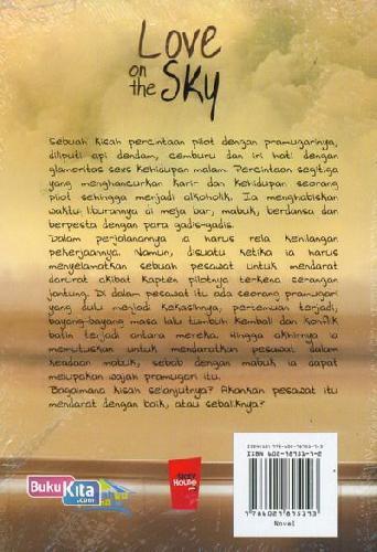 Cover Belakang Buku Love on the Sky