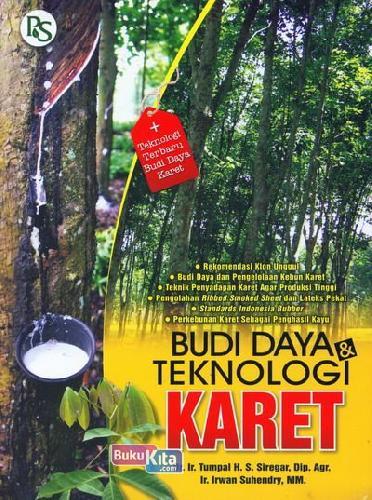 Cover Buku Budi Daya dan Teknologi Karet