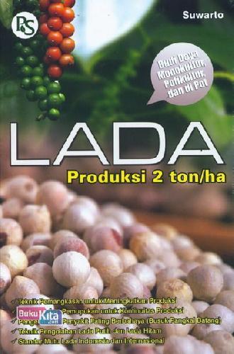 Cover Buku Lada Produksi 2 ton/ha