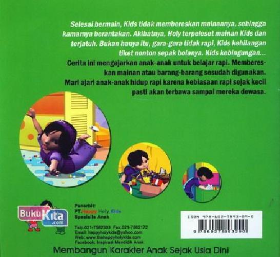 Cover Belakang Buku Aku Anak Yang Rapi