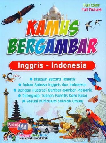 Cover Buku Kamus Bergambar Inggris-Indonesia
