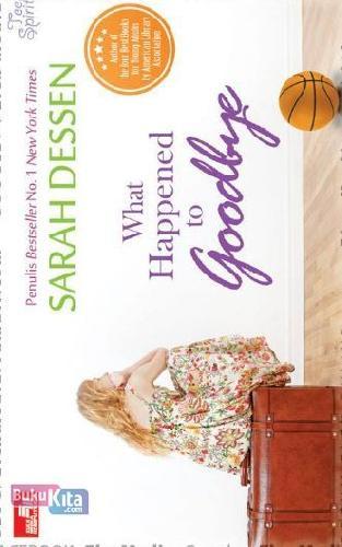 Cover Buku WHAT HAPPENED TO GOODBYE