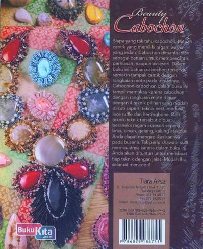 Cover Belakang Buku Beauty Cabochon