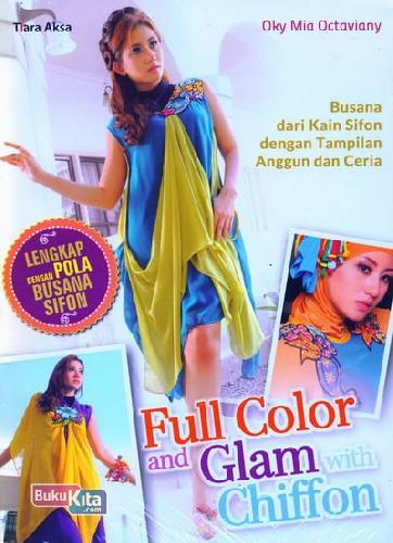 Cover Buku Full Color and Glam with Chiffon