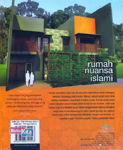 Cover Belakang Buku Rumah Nuansa Islami