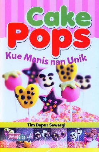 Cover Buku Cake Pops Kue Manis nan Unik
