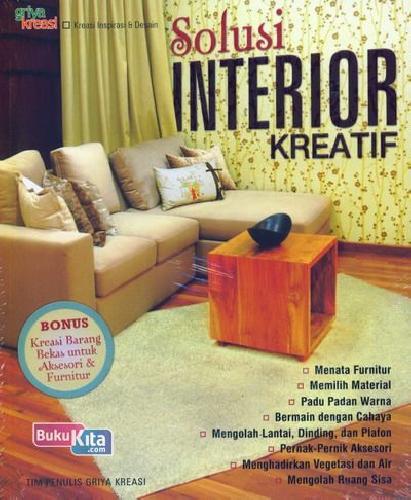 Cover Buku Solusi Interior Kreatif