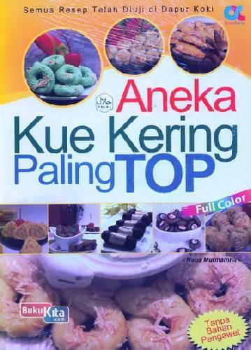 Cover Buku Aneka Kue Kering Paling Top (full color)