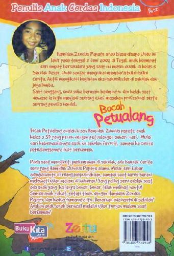 Cover Belakang Buku Bocah Petualang