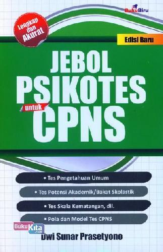 Cover Buku Jebol ikotes untuk CPNS Edisi Baru