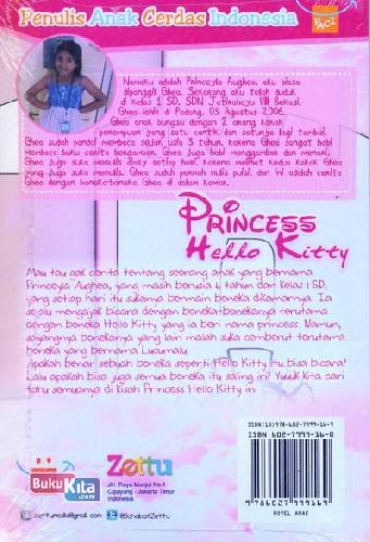 Cover Belakang Buku Princess Hello Kitty