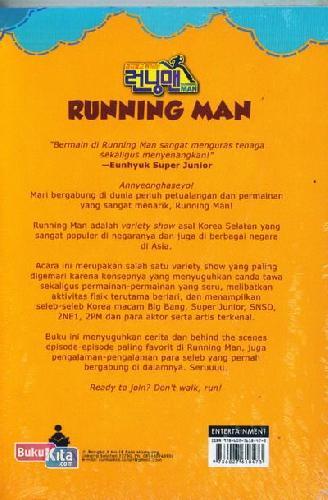 Cover Belakang Buku Running Man (Reality Show Kocak No 1 di Korea)