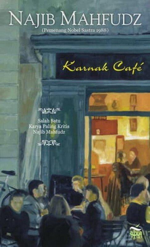 Cover Buku Karnak Cafe