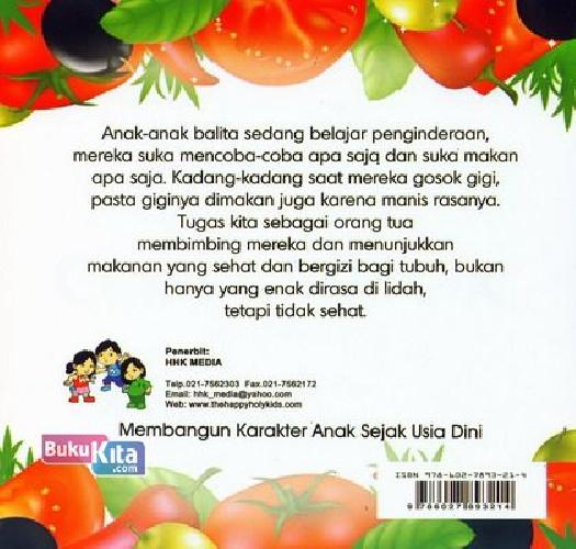 Cover Belakang Buku Pilihan Makanan Sehat