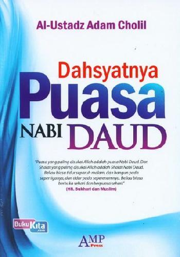 Cover Buku Dahsyatnya Puasa Nabi Daud