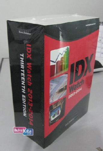 Cover Buku IDX Watch 2013-2014 THIRTEENTH EDITION