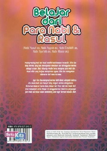 Cover Belakang Buku Belajar dari Para Nabi & Rasul 3