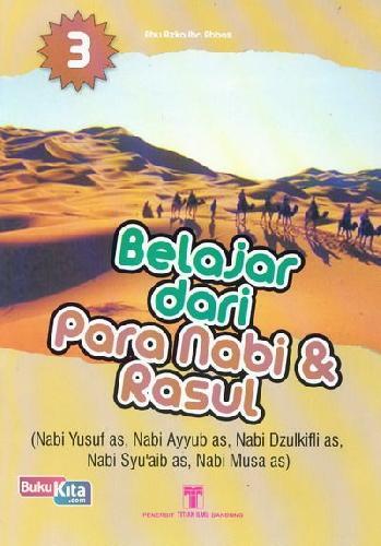 Cover Buku Belajar dari Para Nabi & Rasul 3