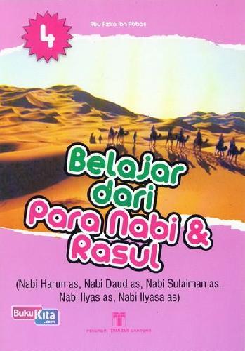Cover Buku Belajar dari Para Nabi & Rasul 4