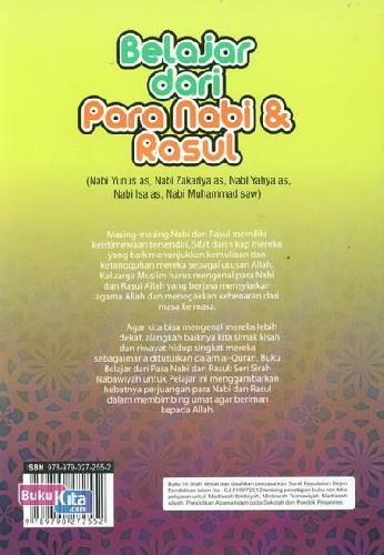 Cover Belakang Buku Belajar dari Para Nabi & Rasul 5