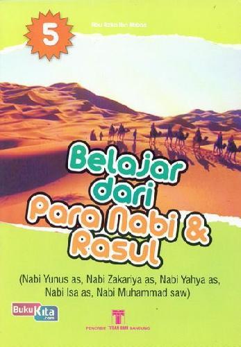 Cover Buku Belajar dari Para Nabi & Rasul 5
