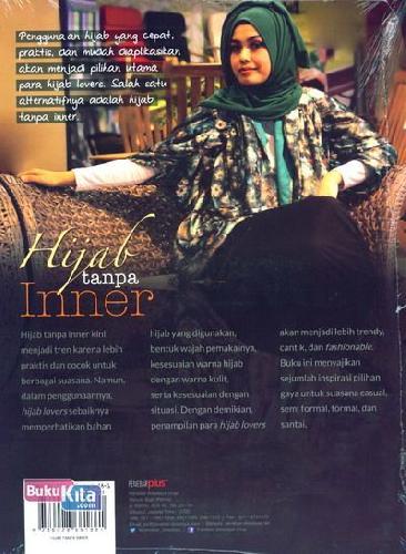 Cover Belakang Buku Hijab Tanpa Inner