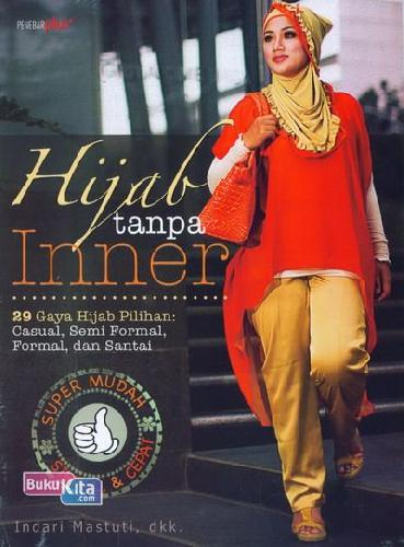 Cover Buku Hijab Tanpa Inner