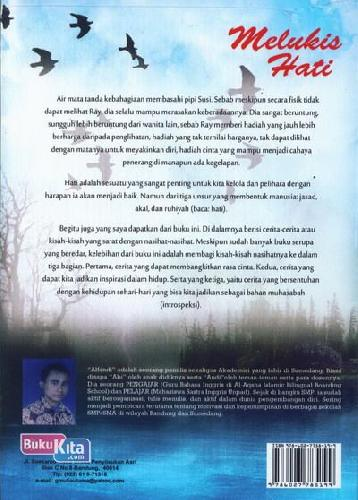 Cover Belakang Buku Melukis Hati (Kisah-Kisah Inspiratif)