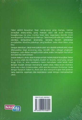 Cover Belakang Buku Bersyukur dengan Zakat