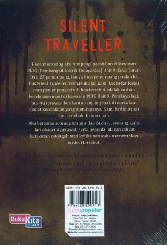 Cover Belakang Buku Silent Traveller