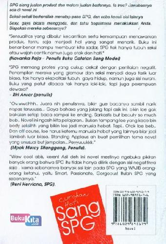 Cover Belakang Buku Curahan Hati Sang SPG