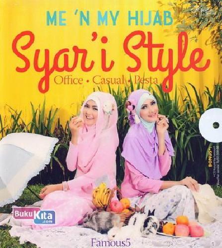Cover Buku Me N My Hijab Syar