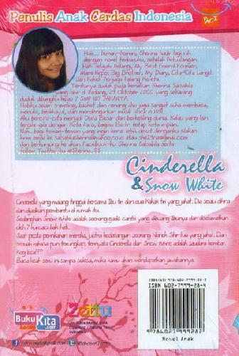 Cover Belakang Buku Cinderella & Snow White