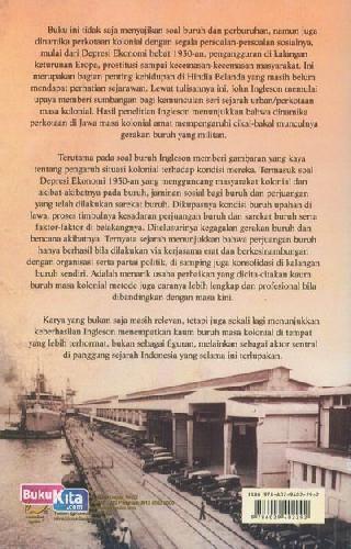 Cover Belakang Buku Perkotaan, Masalah Sosial & Perburuhan di Jawa Masa Kolonial