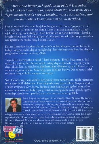 Cover Belakang Buku Pelajaran Dari Surga