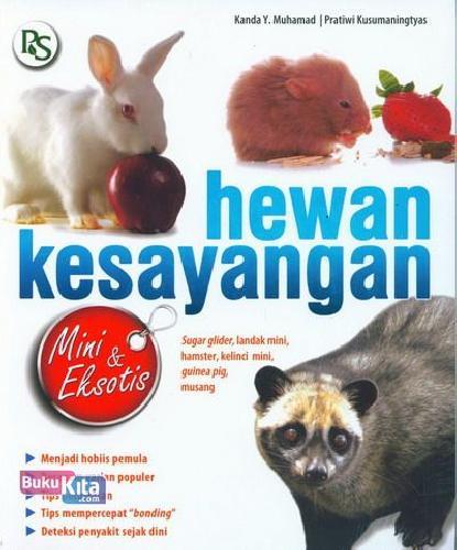 Cover Buku Hewan Kesayangan Mini dan Eksotis