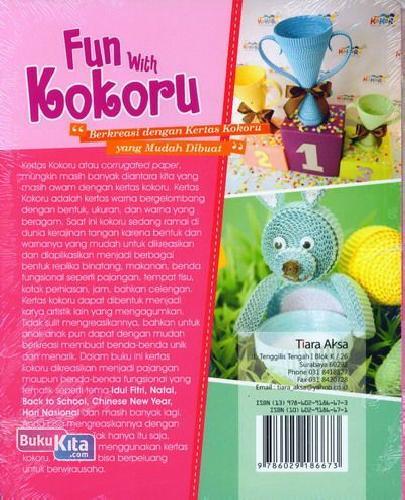 Cover Belakang Buku Fun With Kokoru