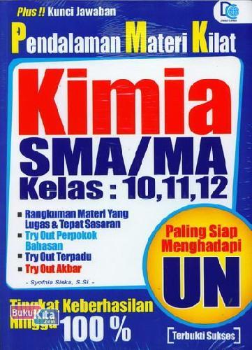 Cover Buku Pendalaman Materi Kilat Kimia SMA/MA Kelas 10,11,12