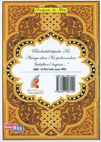 Cover Belakang Buku Kumpulan Doa-Doa Islami Sepanjang Masa