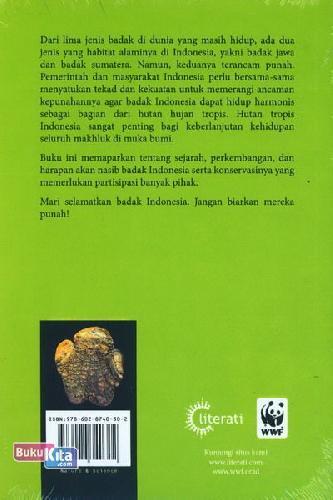 Cover Belakang Buku Teknik Konservasi Badak Indonesia